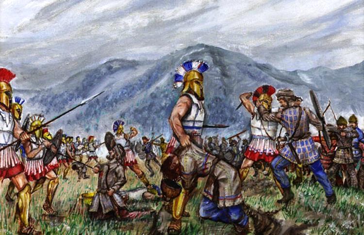 Battle Thermopylae Helmets