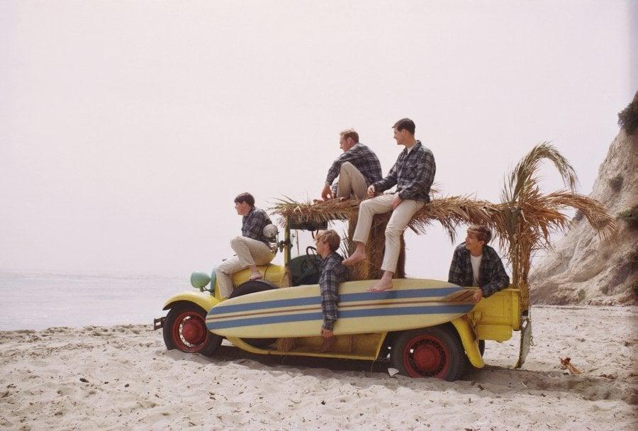 Beach Boys On Beach