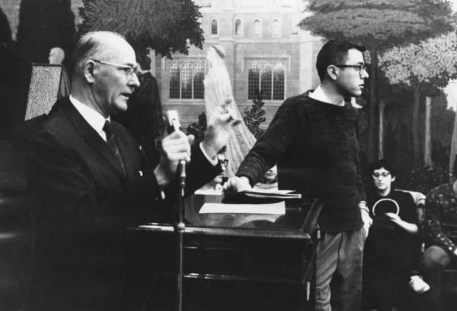 Bernie Sanders College Photos