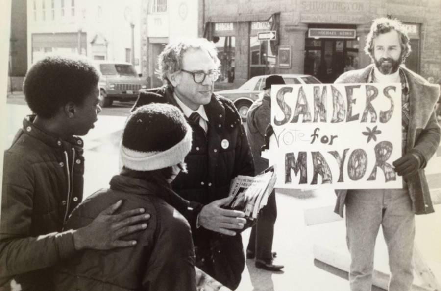 Bernie Sanders Mayor Campaign