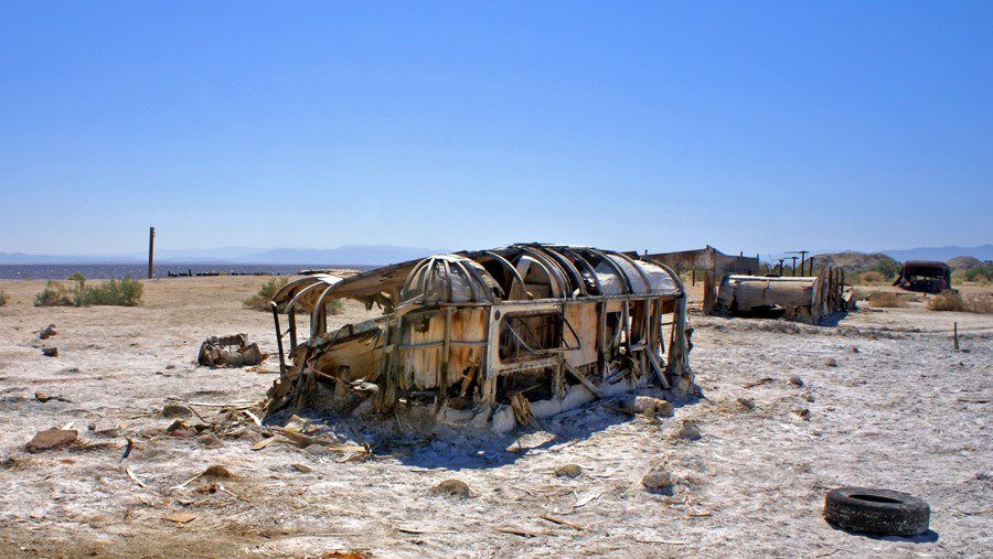 Bombed Out Bombay Beach