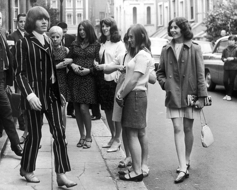 Brian Jones Court Groupies