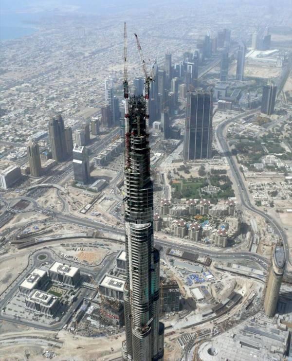 Burj Khalifa Dubai Construction