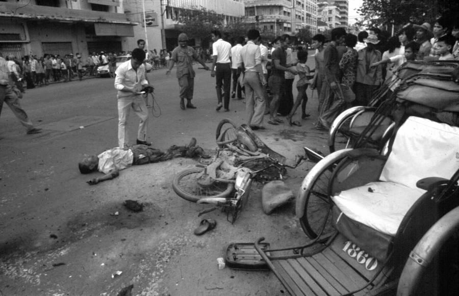 Cambodia War Victim