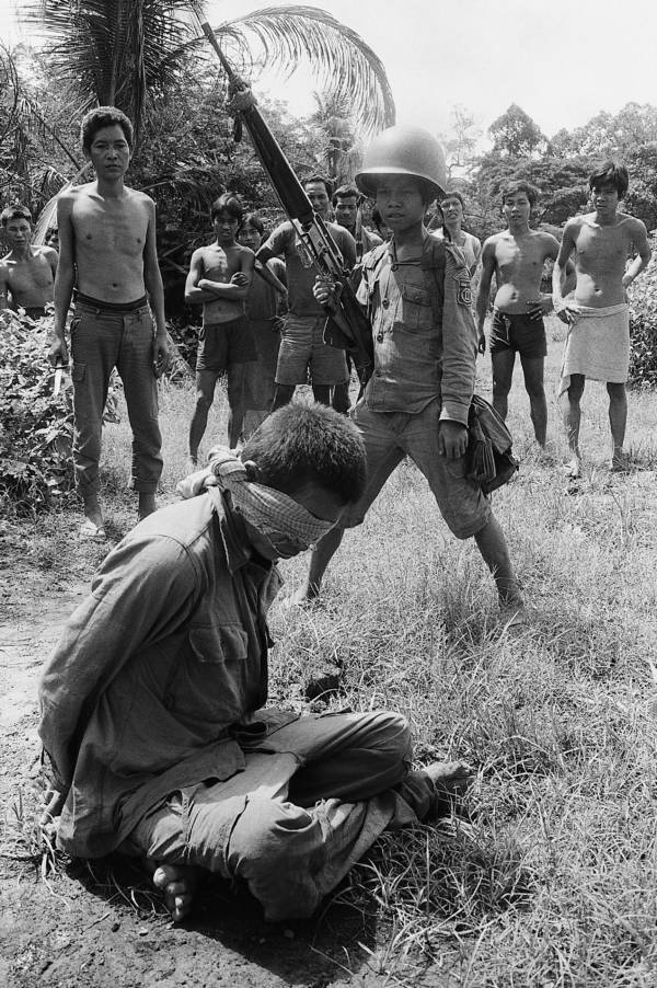 Child Soldier With Captive