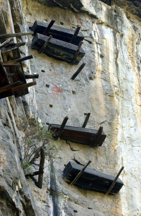 China Hanging Coffins Four