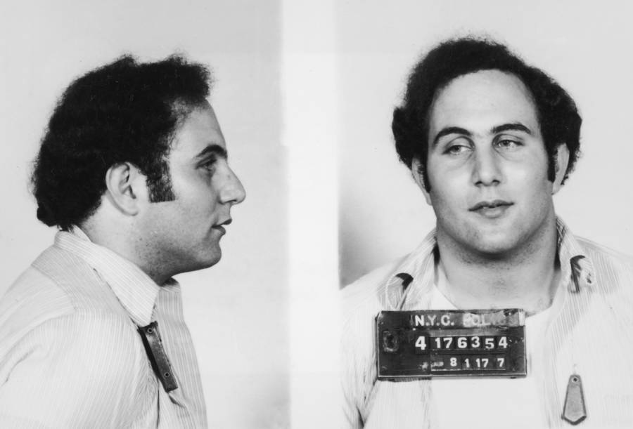 David Berkowitz Mugshot