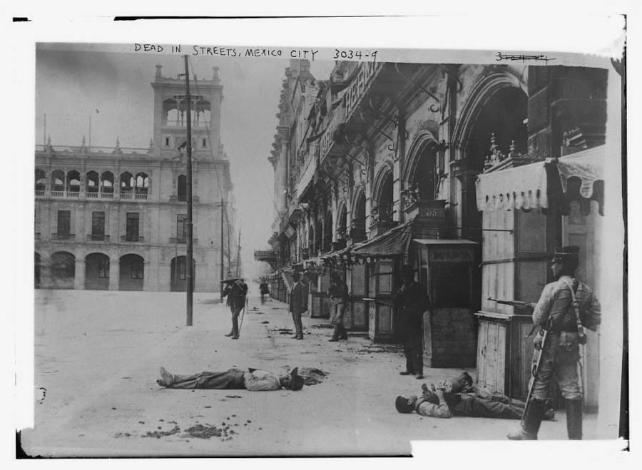 Dead In Mexico City