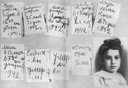 Diary Leningrad