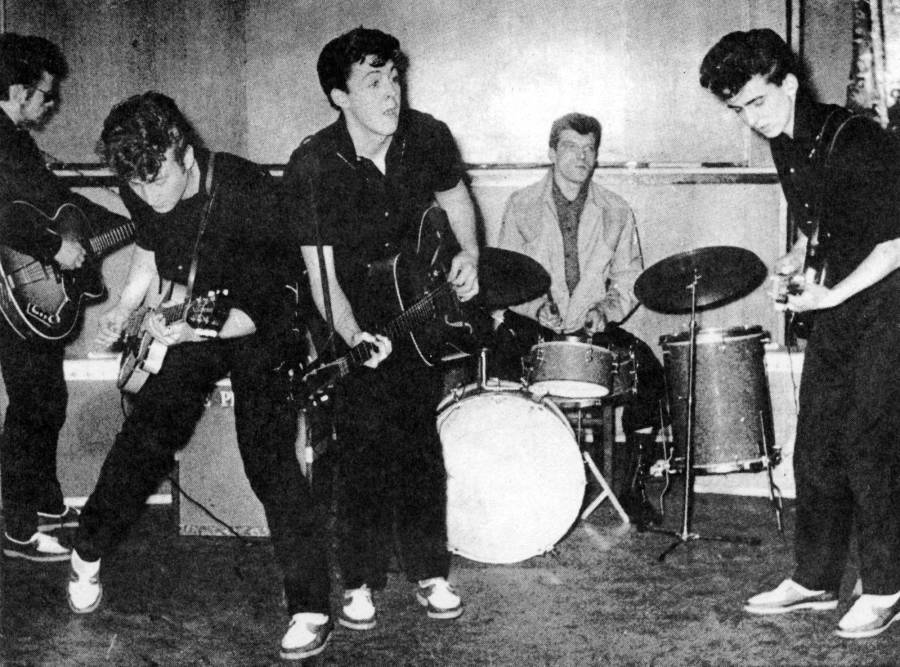 Early Beatles With Stuart Sutcliffe