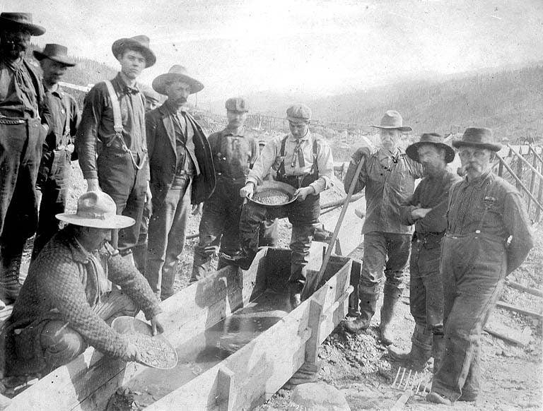 Eldorado Creek Miners
