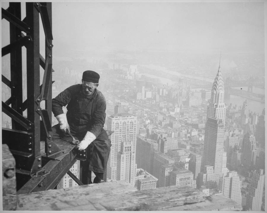 Empire State Building Girder