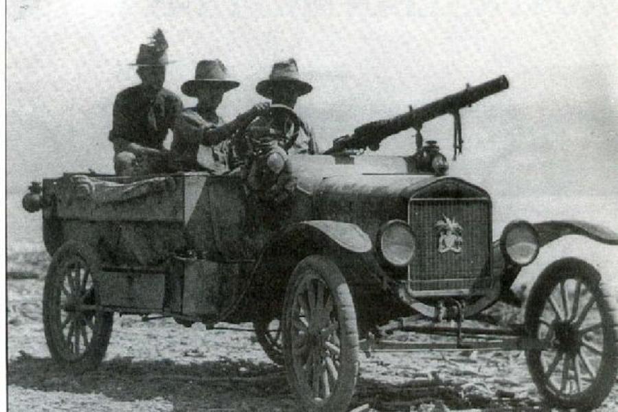 Militarized Model T