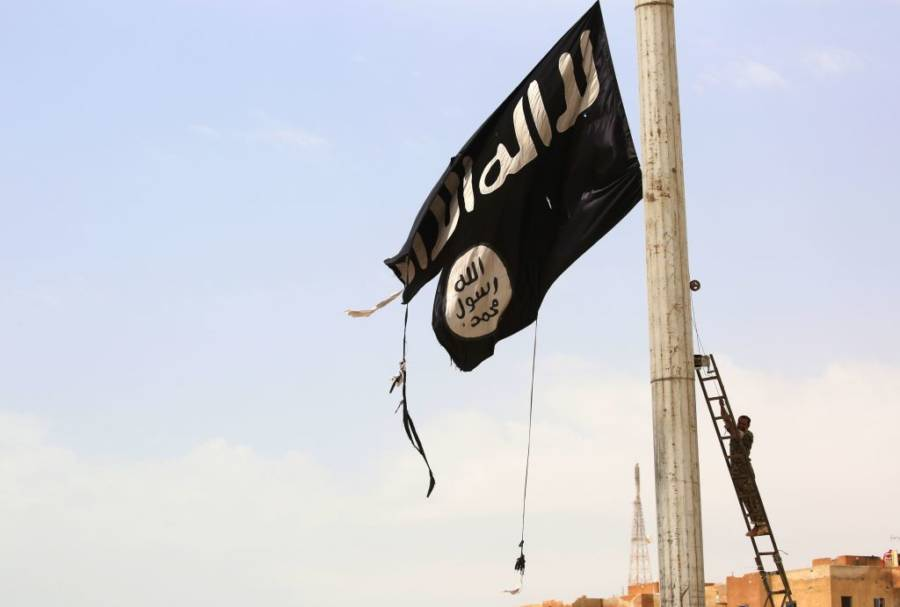 End Of Isis Flag