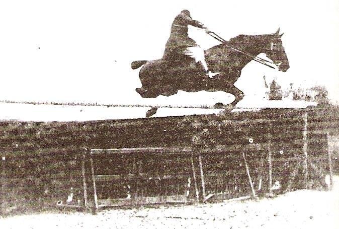 Equestrian High Jump 1900
