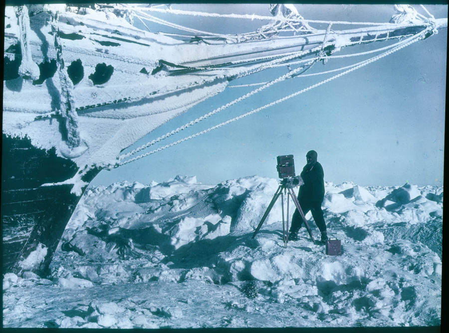 Ernest Shackleton Camera