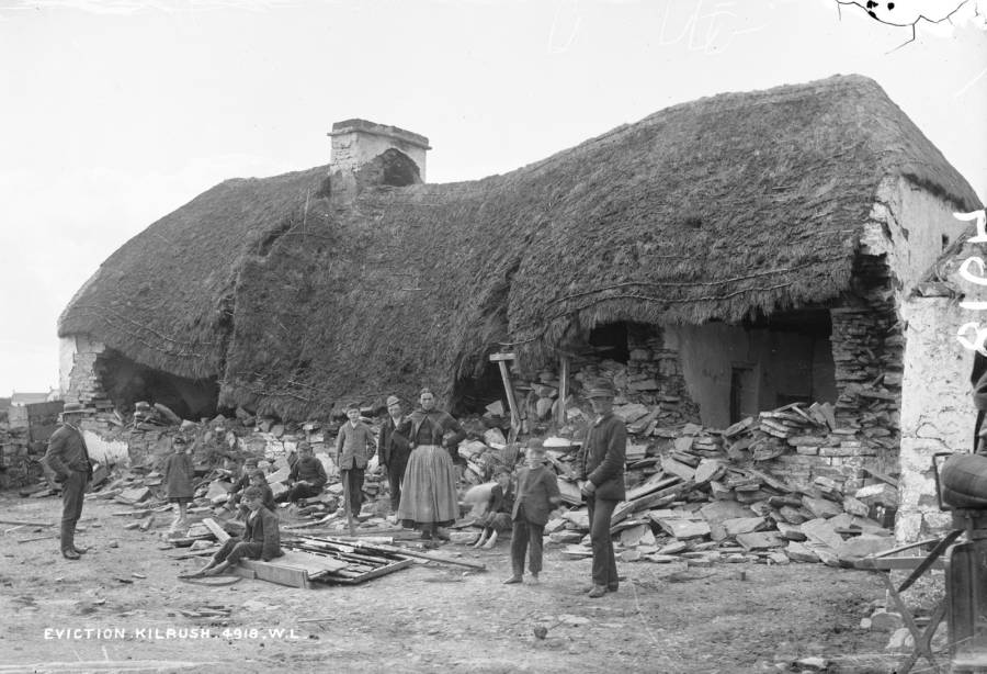 Eviction Irish Land War
