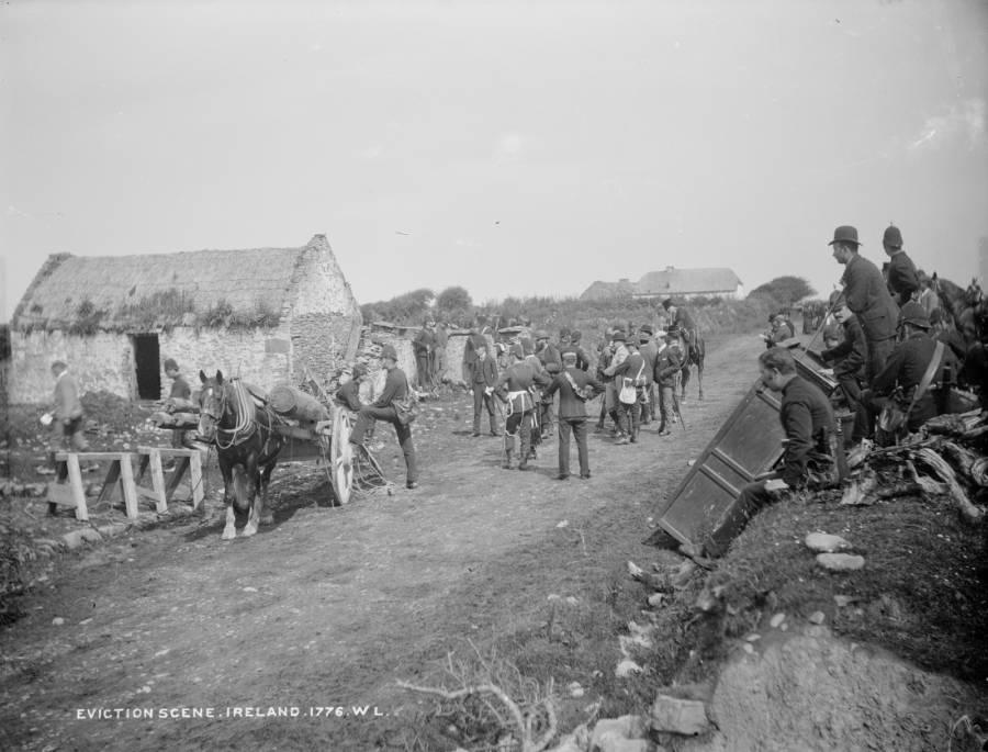 Eviction Scene Land War