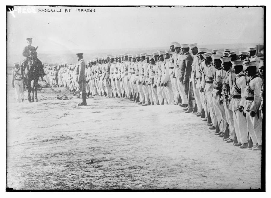Federals At Torreon