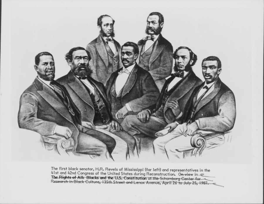 First Black Senator