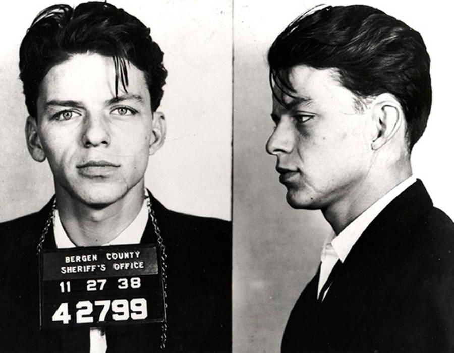 Frank Sinatra Famous Mugshots