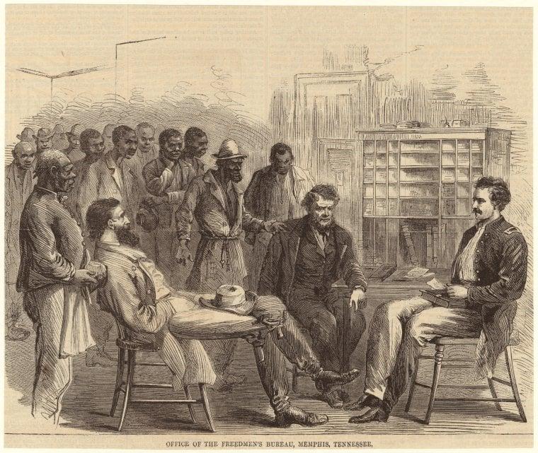 Freedmens Bureau 1866