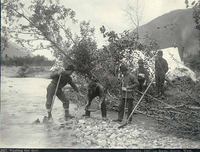 Gold Rush Prospectors Creek