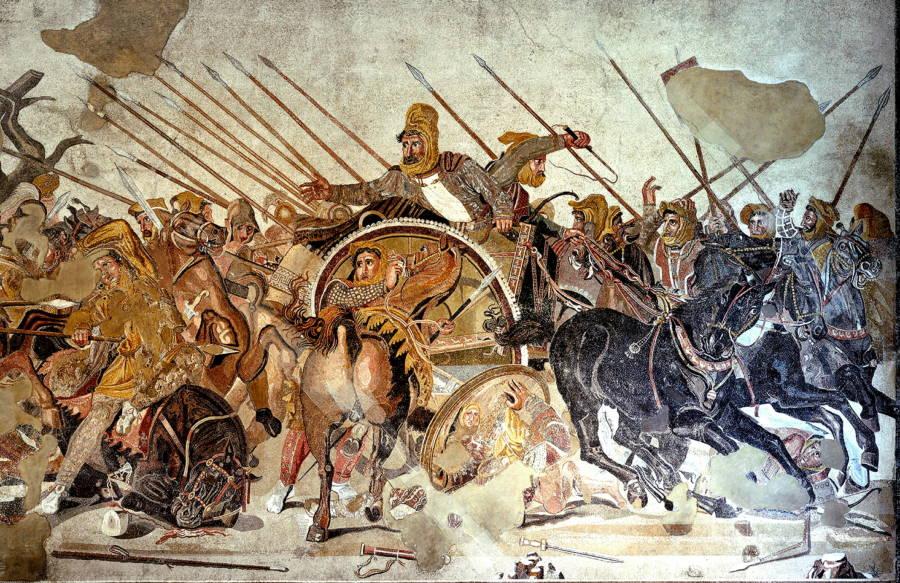Greek Wars Mosaic