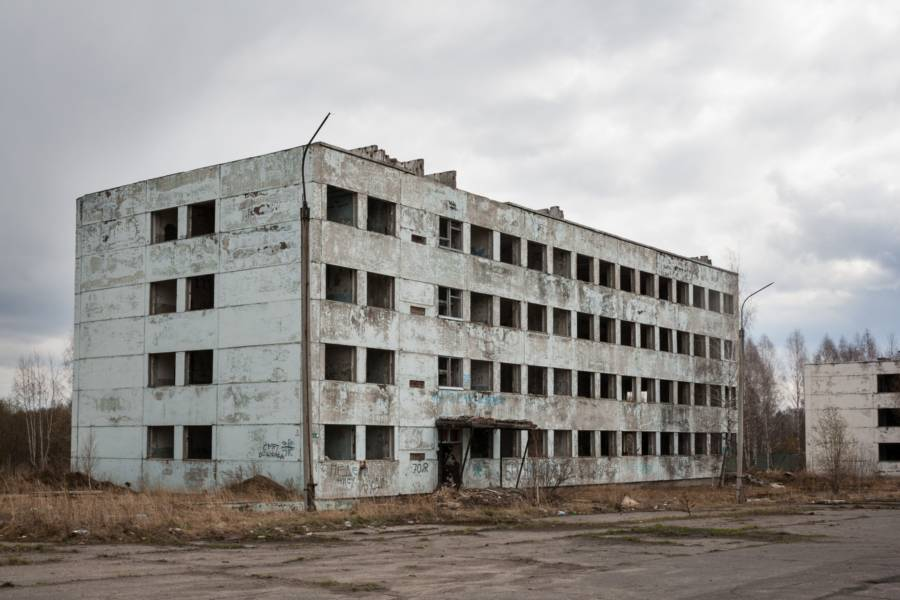 Gutted Building