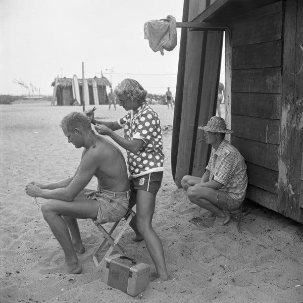 Haircut On Beach