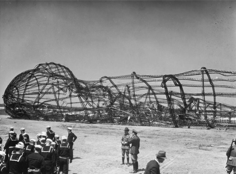 Hindenburg Charred Hulk