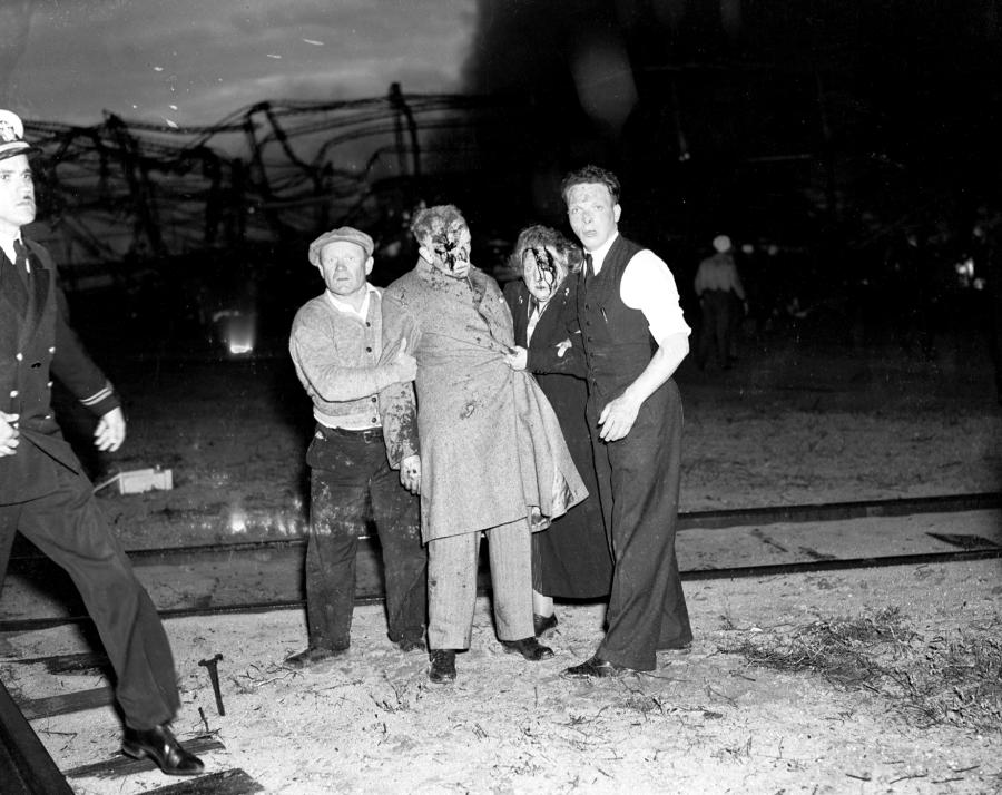 Hindenburg Dazed And Bloodied