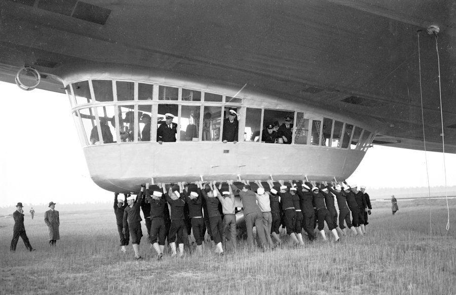 Hindenburg Ground Crew