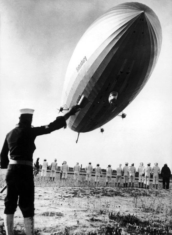 Hindenburg Landing New York