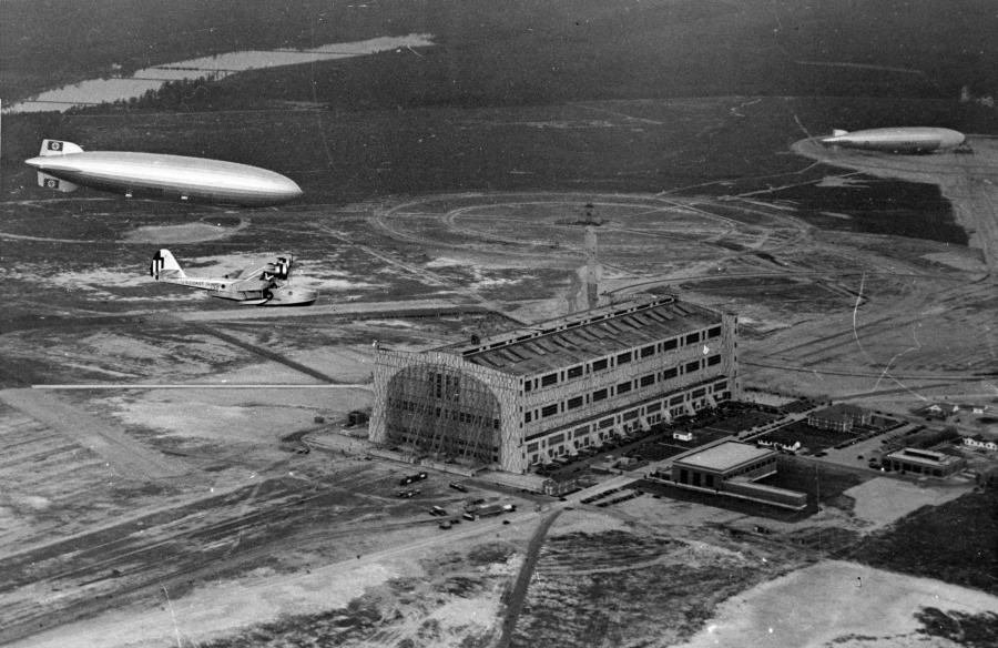 Hindenburg Over Lakehurst