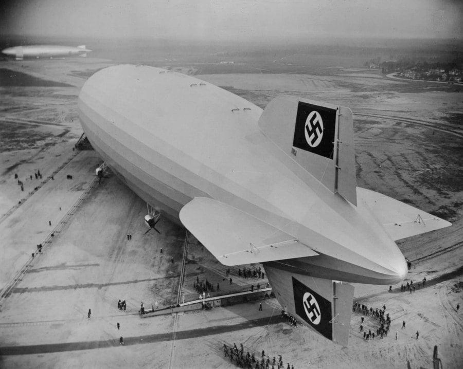 Hindenburg Swastika Wide
