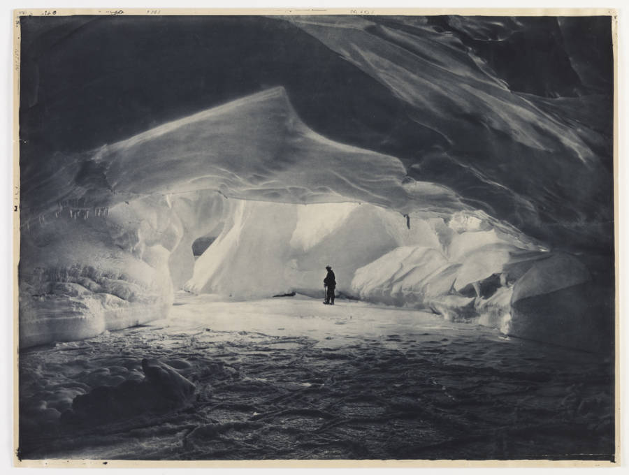 Ice Cavern Antarctic Exploration