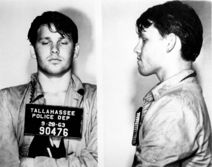 Jim Morrison Mugshot Florida