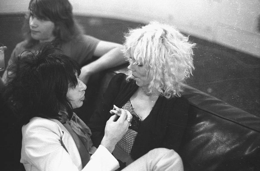 Johnny Thunders Sable Starr