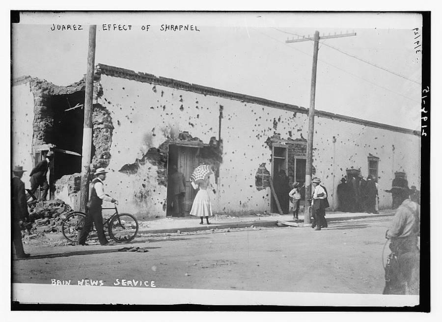 Juarez Effect Of Shrapnel