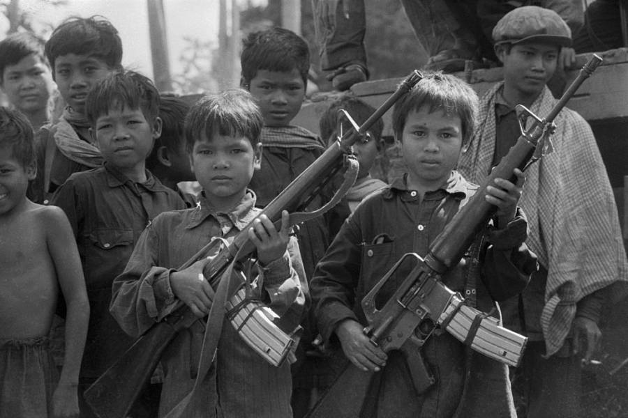 Khmer Rouge Child Soldiers