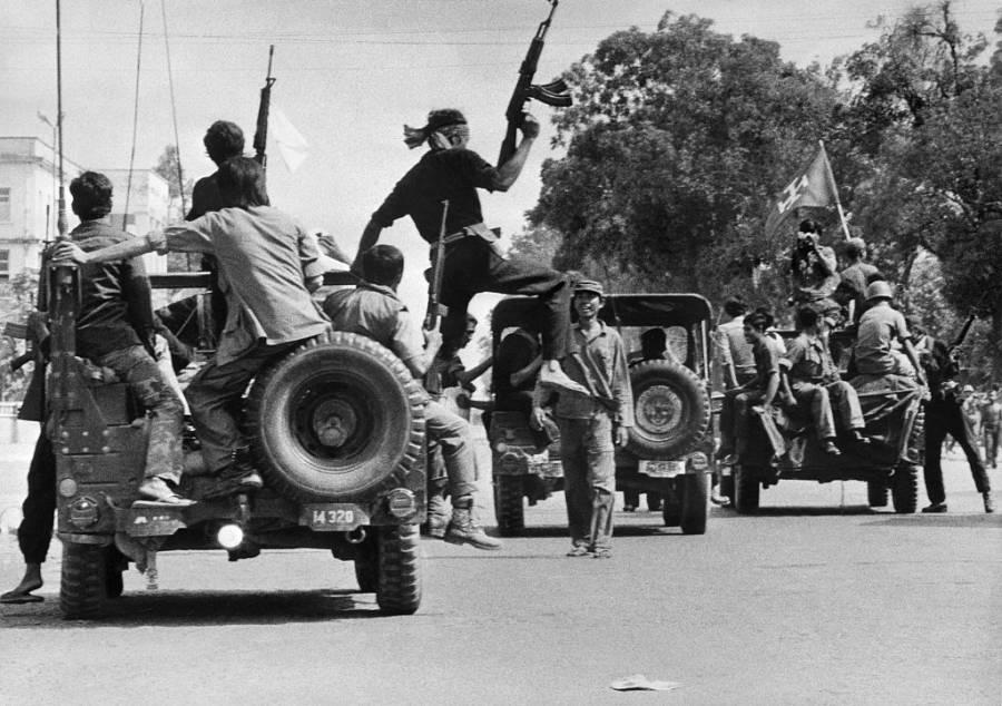 Khmer Rouge Jeeps