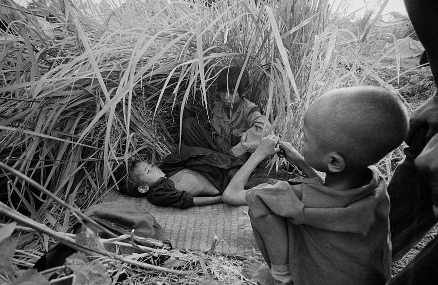 Killing Fields Children Hiding