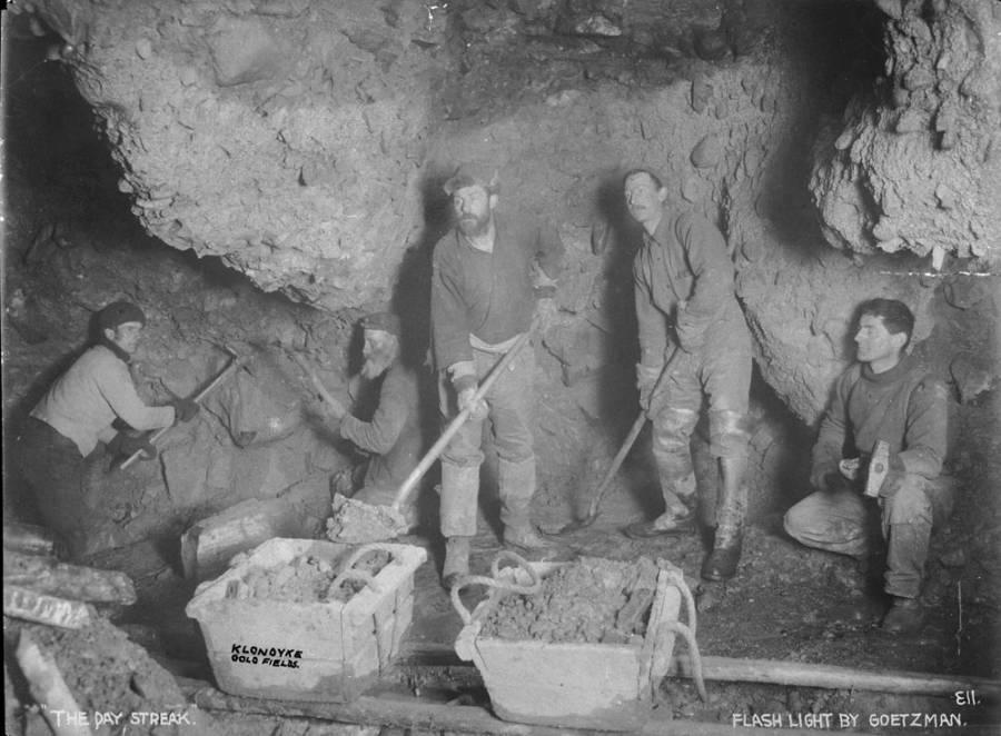 Klondike Gold Rush Miners