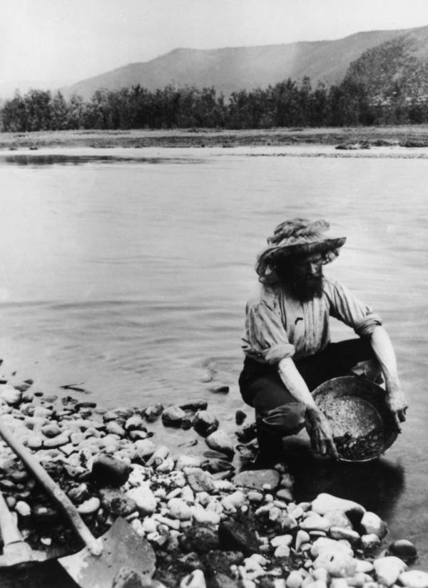 Klondike Gold Rush Prospector