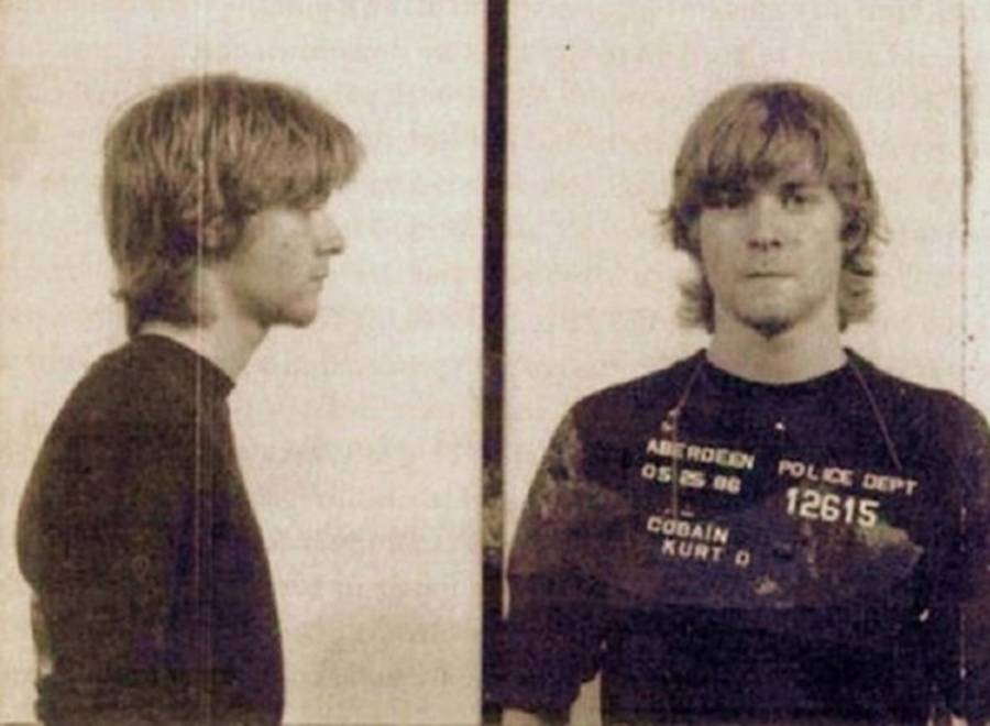 Kurt Cobain's Mugshot