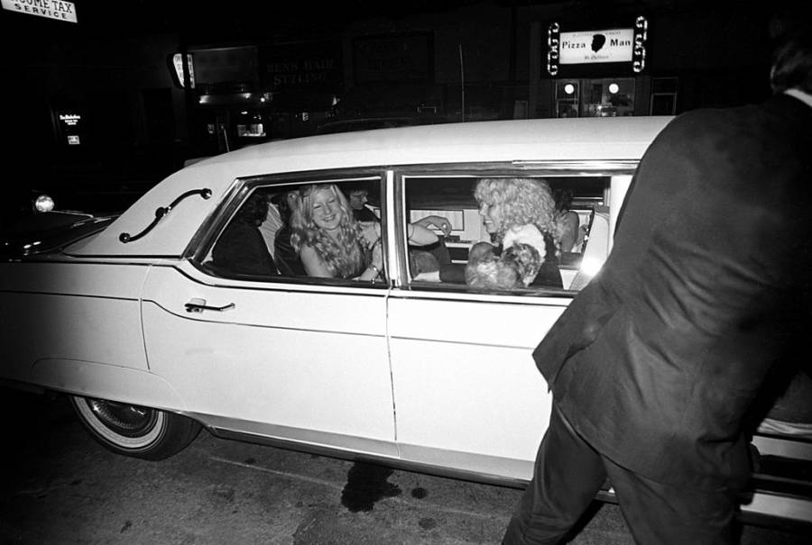 Led Zeppelin Limo Groupies