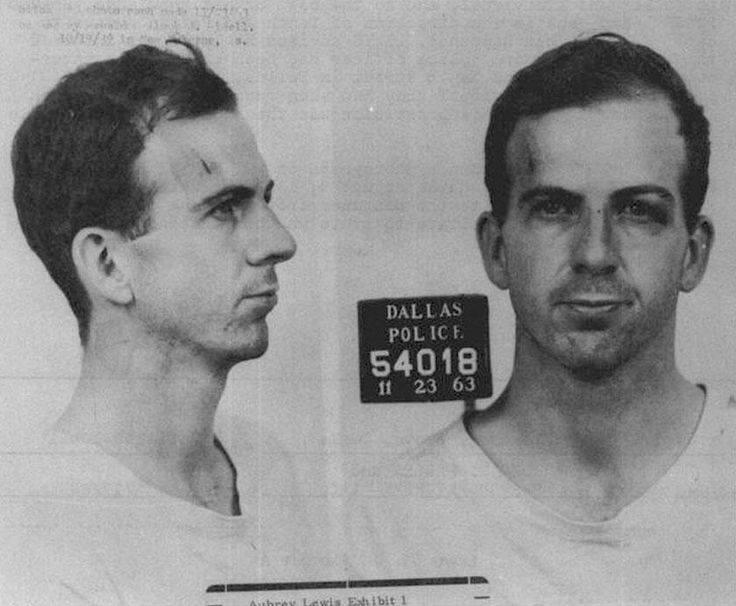 Lee Harvey Oswald Mugshot