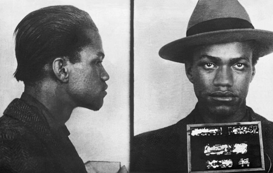 Malcolm X Mugshot