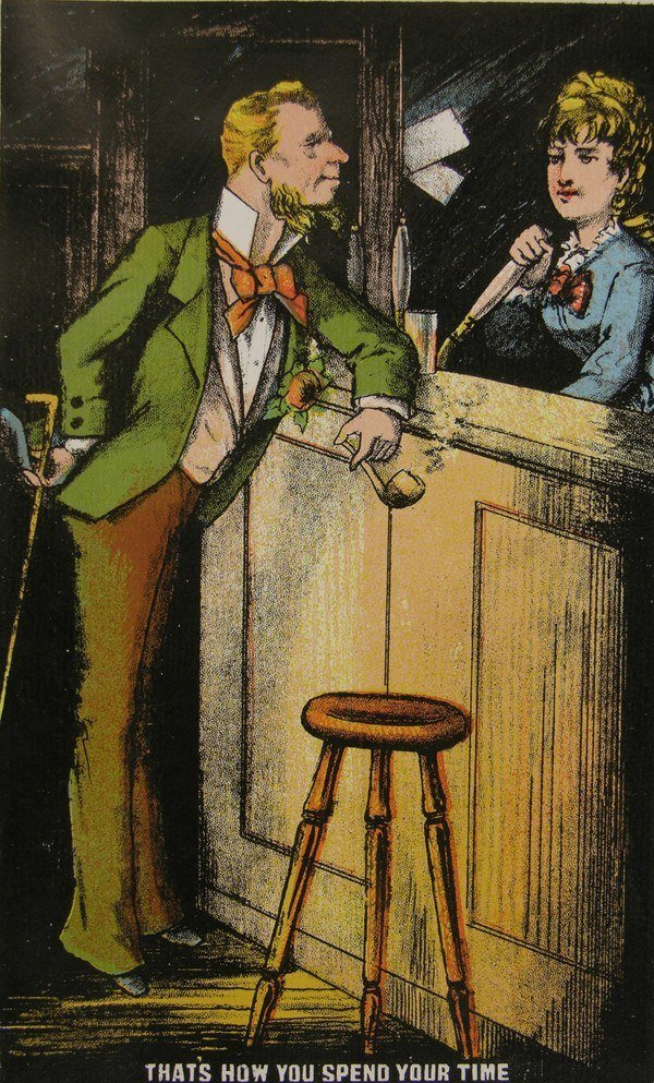 Man In A Bar